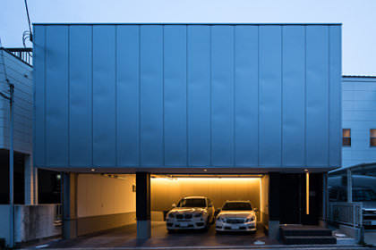 舞子坂のガレージハウス