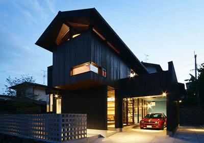 生駒のガレージハウス・奈良