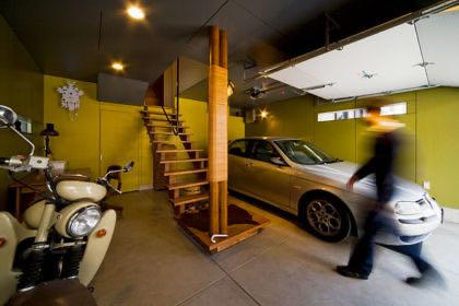 ガレージのある家15 宝塚のガレージハウス
