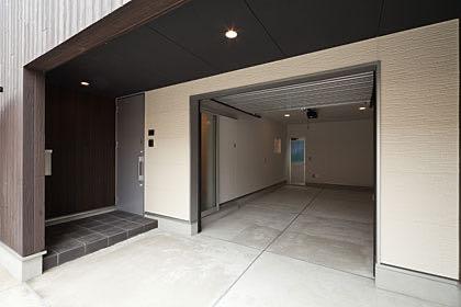 狛江のガレージハウス・東京 ガレージ