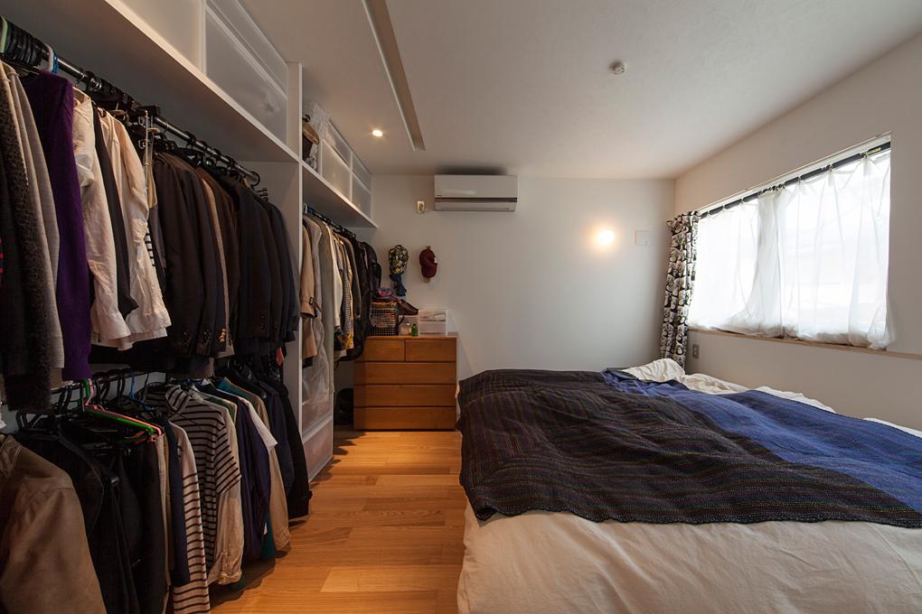 板橋のガレージハウス 2階個室