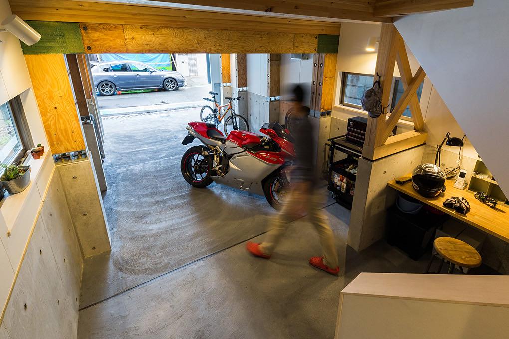門戸厄神のガレージハウス ガレージ