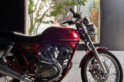 飾磨のバイクガレージハウス