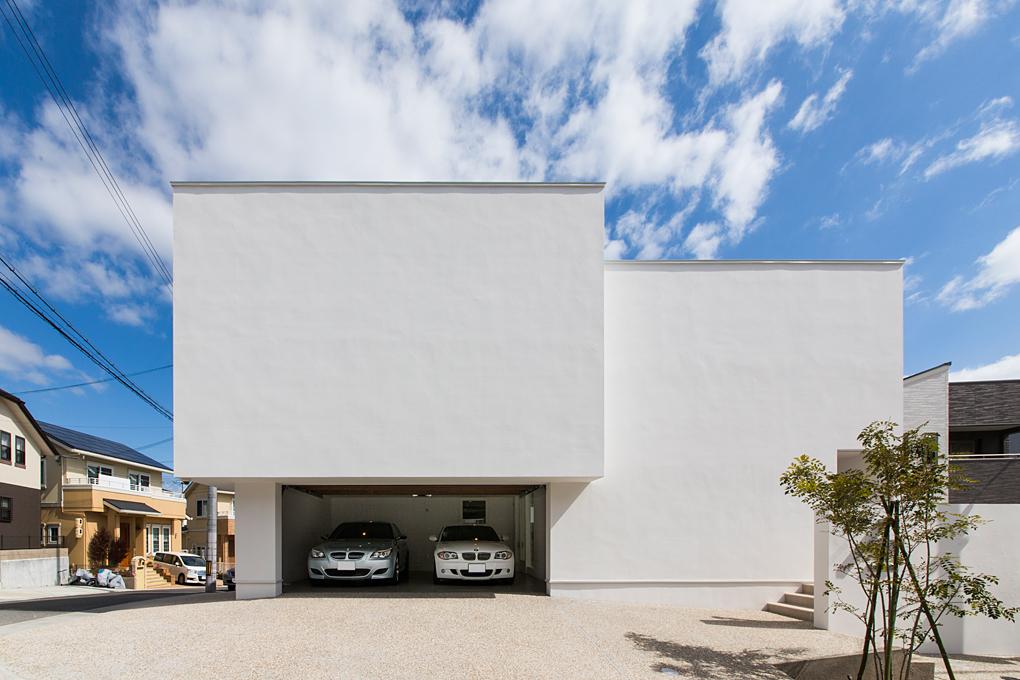 垂水のガレージハウス 外観