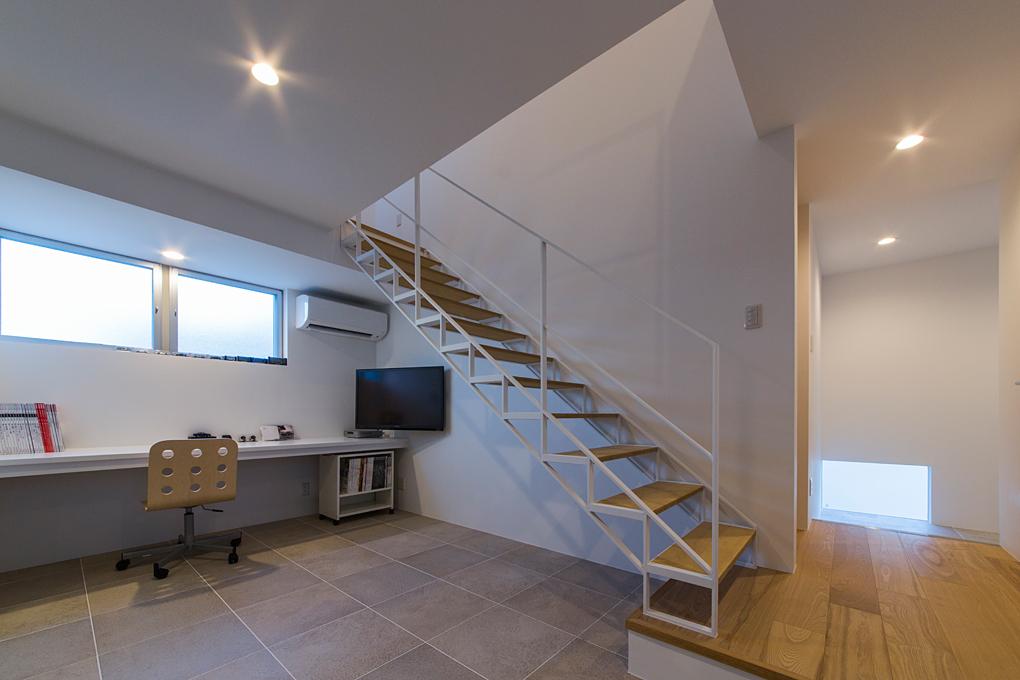 垂水のガレージハウス 書斎